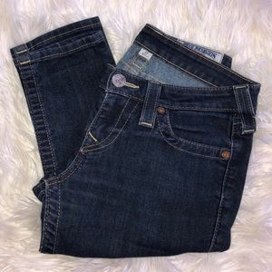 TRUE RELIGION dark skinny jeans.